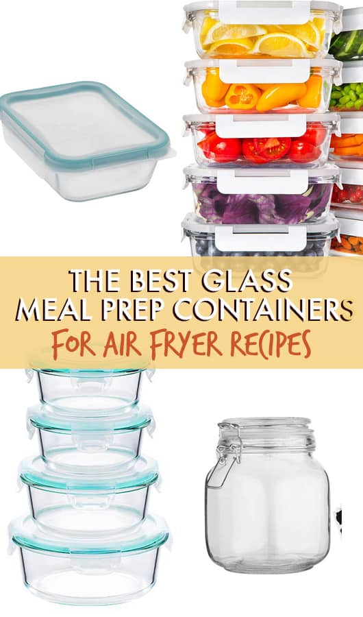 the best glass meal prep containers for Air fryer