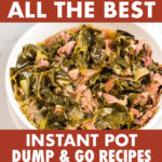 A COLLAGE OF INSTANT POT MEALS