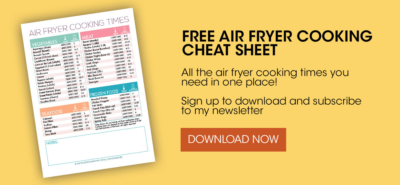 air freyr cheat sheet coking bundle