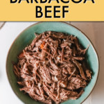 BARBACOA BEEF IN A BOWL