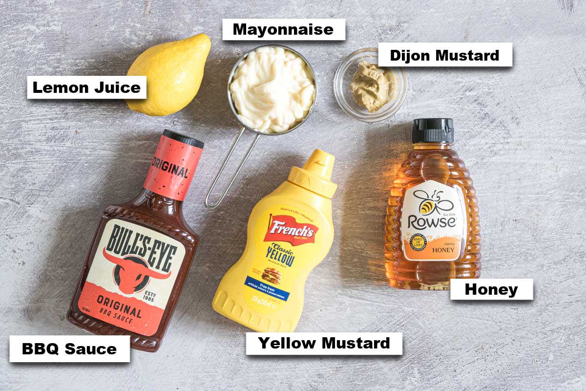 the ingredients needed for making copycat chick fil a sauce
