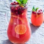 Easy Festive Fruit Punch + Tutorial {Vegan + Gluten-Free}