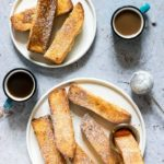 Air Fryer French Toast Sticks + Oven Method {Vegetarian}