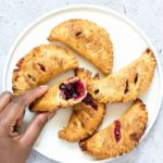 Air Fryer Blueberry Hand Pies + Tutorial {Vegetarian}