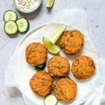 Baked Wild Salmon Patties + Tutorial {Low Carb, Keto, Gluten Free}