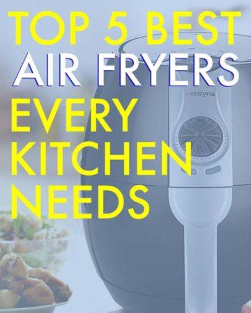 TOP 5 BEST AIR FRYERS