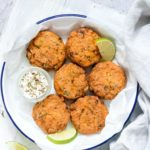 Air Fryer Salmon Patties + Tutorial {Low Carb, Keto, Whole 30, Gluten Free}