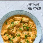 INSTANT POT PEANUT BUTTER CHICKEN