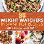 WEIGHT WATCHERS INSTANT POT RECIPES