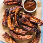 Smoky Air Fryer Ribs {Low Carb, Gluten Free}