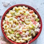 Easy Hawaiian Pasta Salad + Tutorial