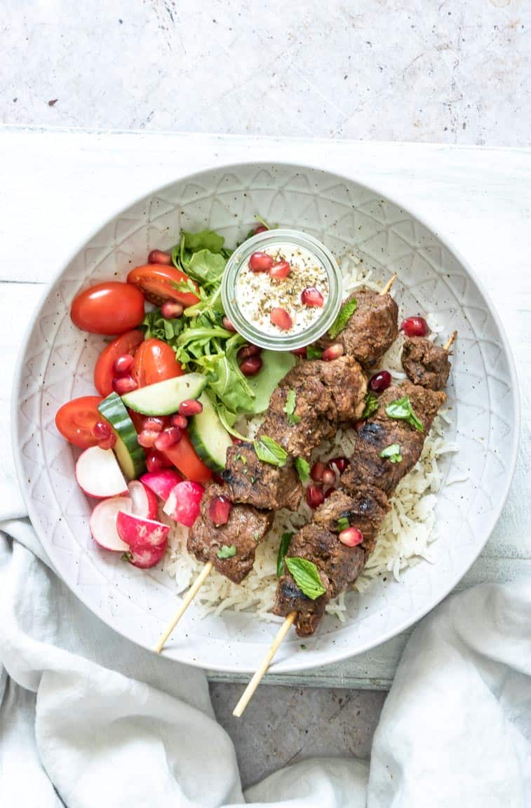 photo of lamb shawarma which is amiddle eastern lamb recipe